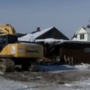 Cheese Haus demolition begins in downtown Frankenmuth
