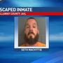 Callaway County Jail escapee remains on the loose
