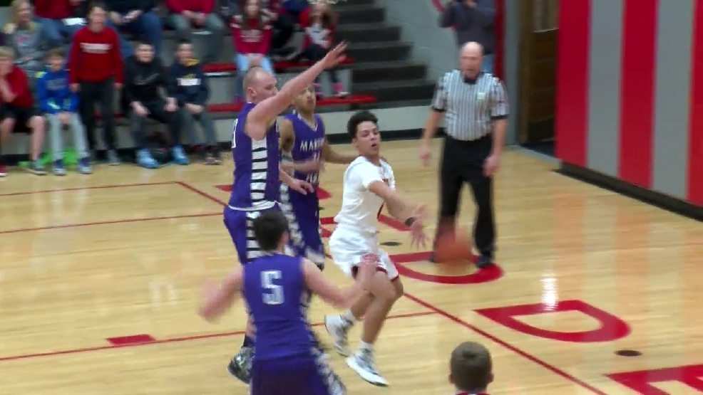 2.10.16 Video- Martins Ferry Vs. St. Clairsville- Boys Basketball OVAC 4A Semi-Final