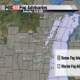 Dense Fog Advisory continues until noon