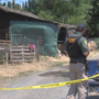 County coroner not yet able to ID body found in Gleed barn