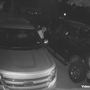 Homeowners catch auto burglar red-handed on security camera