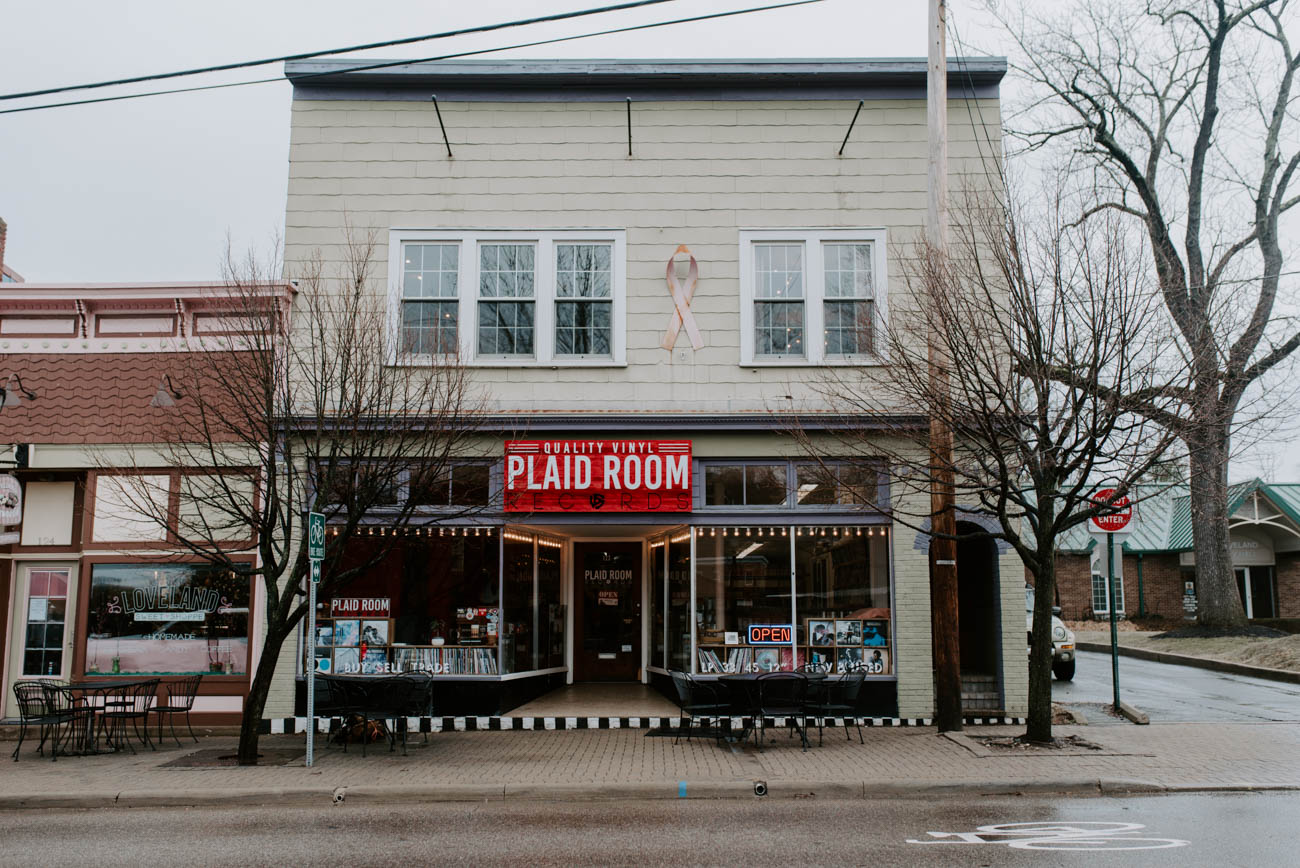 The creative workspace shares the building with Plaid Room Records and Colemine Records, which both reside on the first floor. A separate entrance on the second floor leads to Tupelo House, which formally opened in November 2018. / Image: Brianna Long // Published: 3.19.19{ }