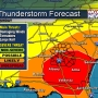 More severe storms in Sunday forecast
