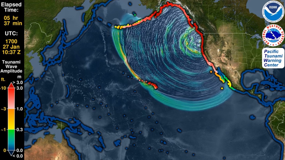 Friday marks 318-year anniversary of great Pacific Coast 9.2 quake, tsunami