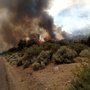 Brush fire in Smith Valley prompts voluntary evacuations, burns more than 1,100 acres