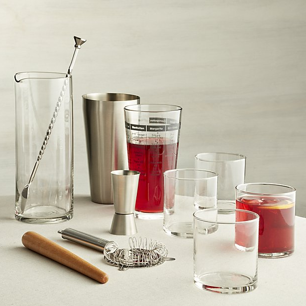 11-Piece Boxed Bar Set ($59.95). Find on crateandbarrel.com. (Image: Crate & Barrel)