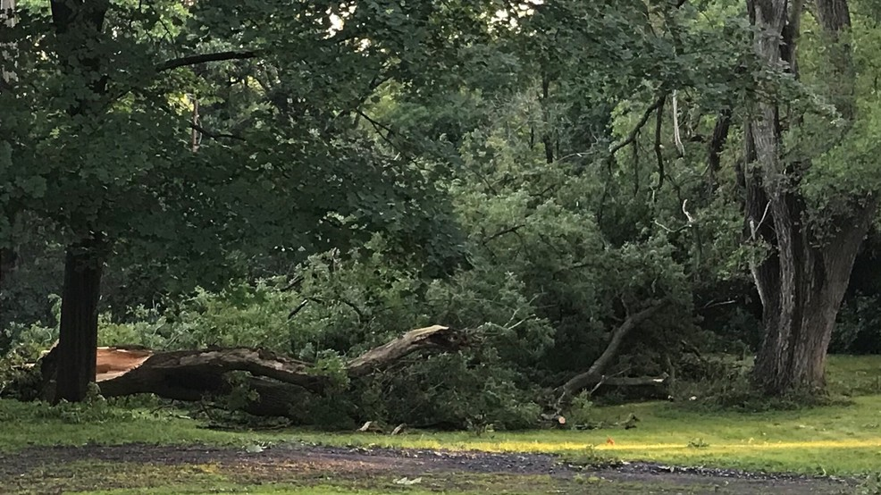 Powerful storms roll through CNY on Saturday
