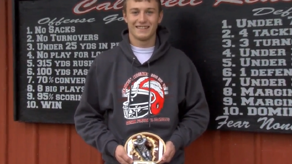 Hancock County Chrysler Dodge Jeep Ram/WTOV9 Player of the Week, Tanner Clark