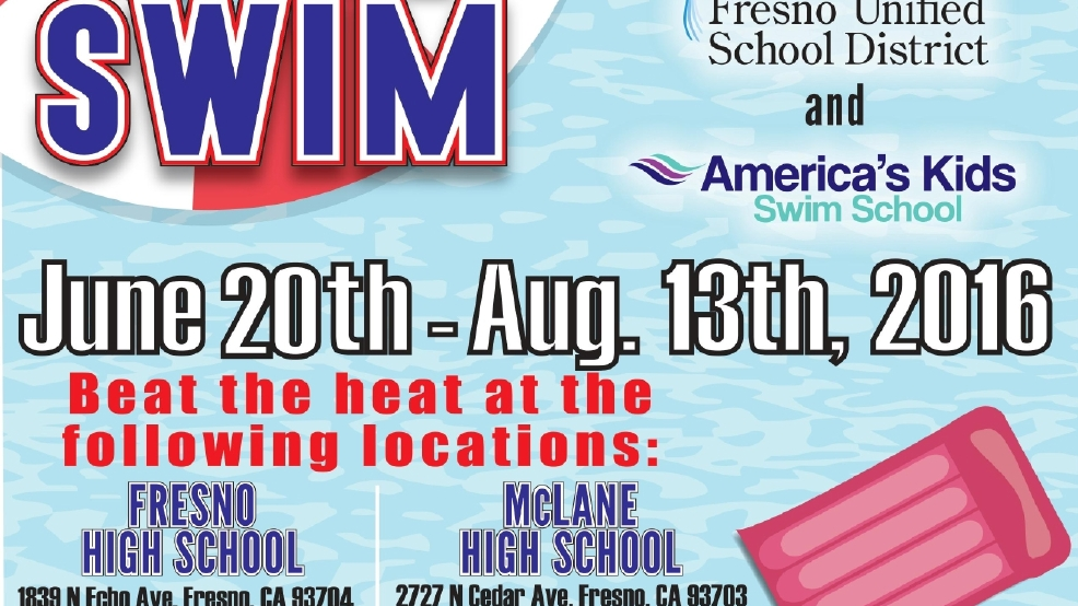Fresno Unified School Pools Will Open Kmph