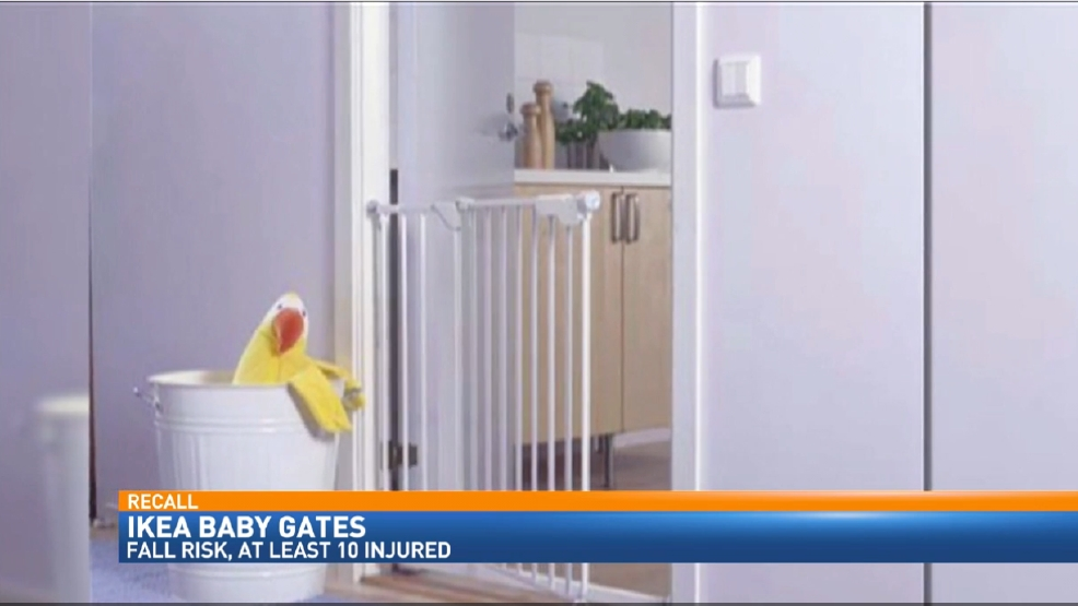 Ikea Patrull Klamma Baby Gate ~ IKEA issues recall for 80,000 baby gates (CNN Newsource)