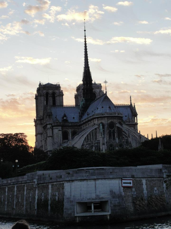 Locals shared their memories and photos of the historic Notre Dame on April 15, 2019 after hearing the gothic Parisian cathedral suffered serious damage after a fire. (Image - Janneke van Dam)