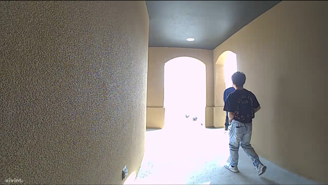 Detectives with the El Paso County Sheriff's Office are looking for these two men suspected of breaking into a home in Horizon City. (EPCSO)