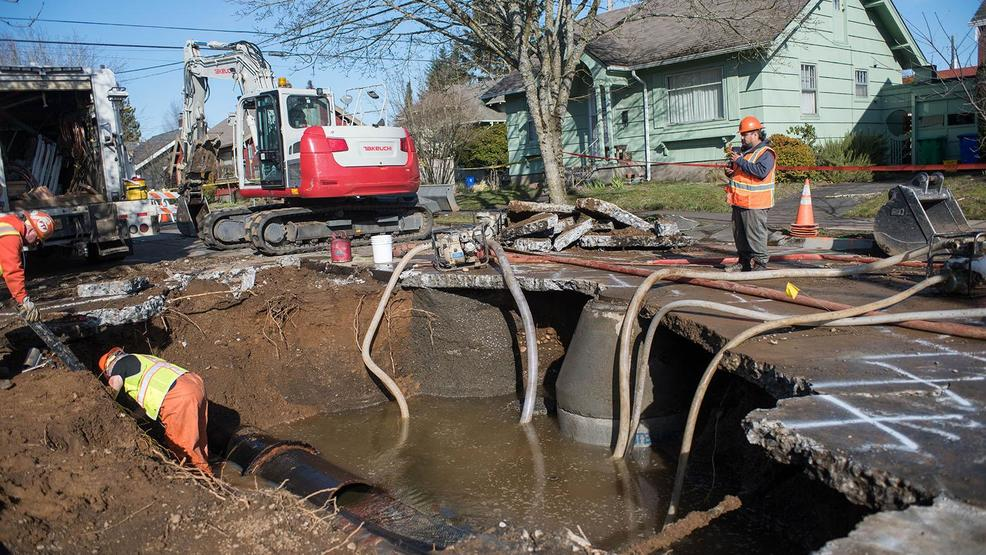 City Council agrees on process for paying claims after NE Portland water main break