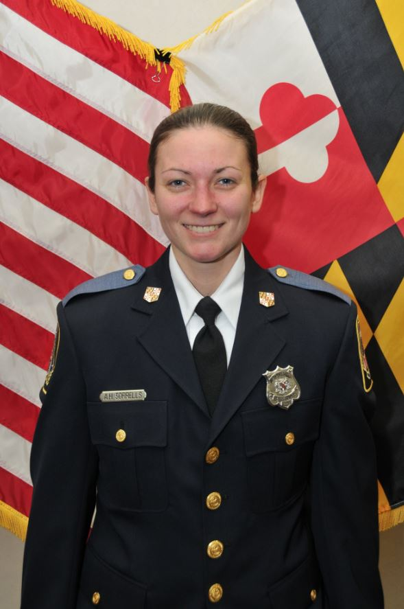Amy Caprio. (Photo, Baltimore County Police)