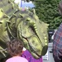N.P. County Fair new attraction: Krusher the Dinosaur!