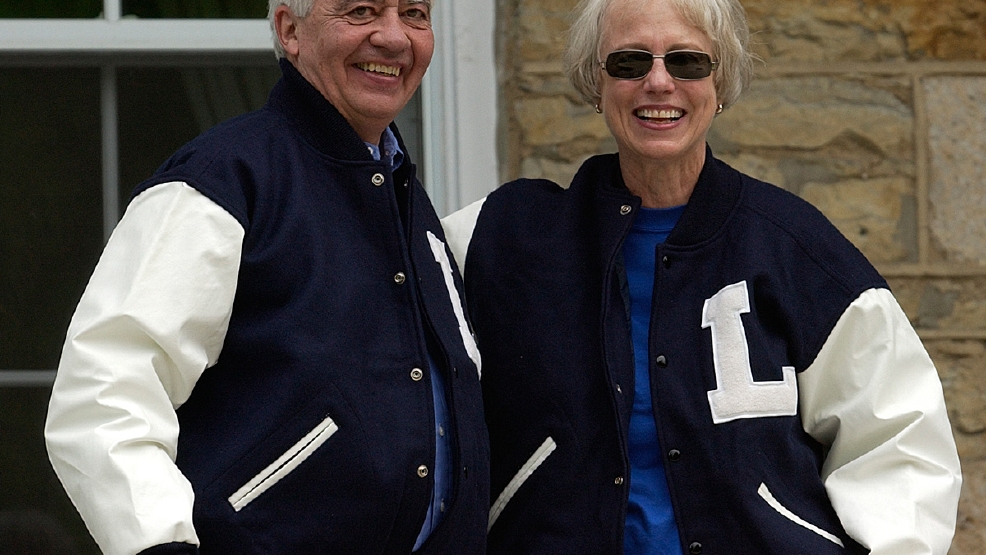 Former Lawrence University President Richard Warch and his wife, Margot (Courtesy Lawrence University)